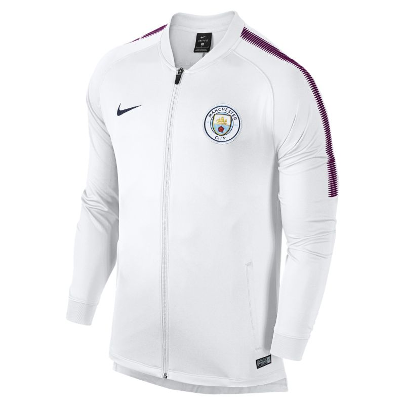 Image of Track jacket Manchester City FC Dri-FIT Squad - Uomo - Bianco