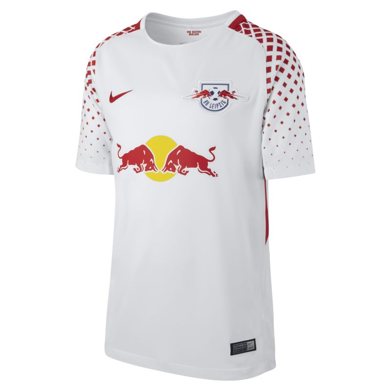 2017/18 RB Leipzig Stadium Home/Away Older Kids'Football Shirt - White