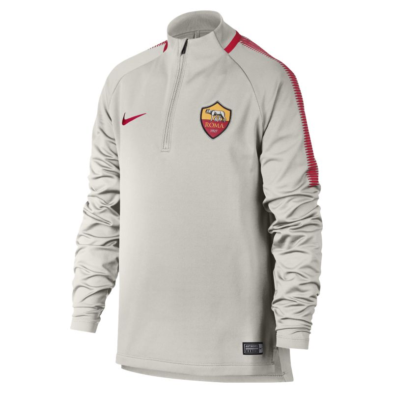 A.S. Roma Dri-FIT Squad Drill Older Kids'Football Top - Cream