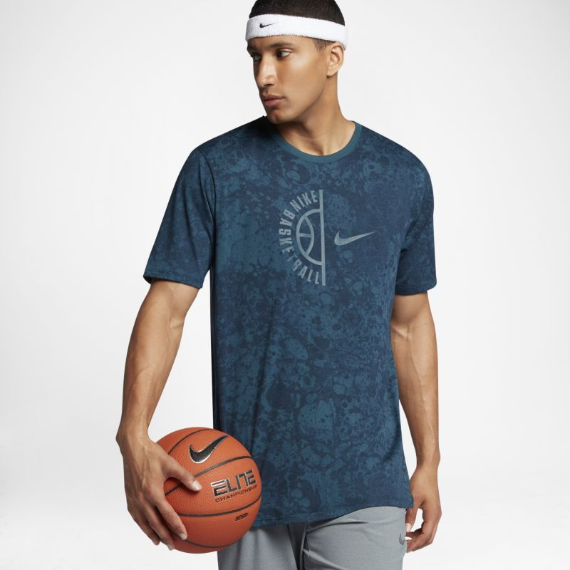 Nike Dry Men's Basketball T-Shirt - Blue