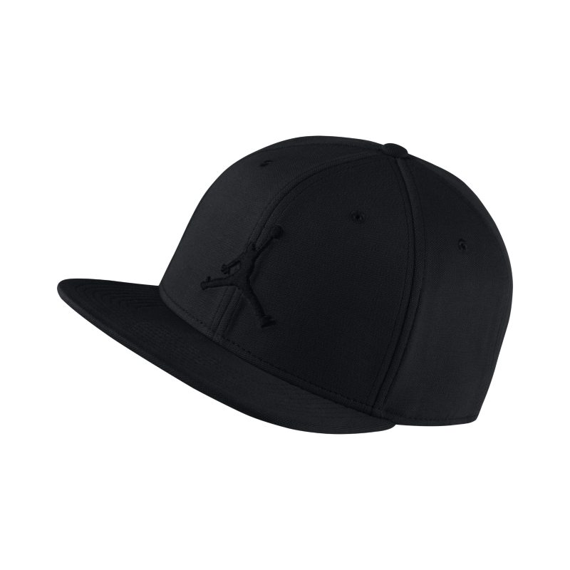 Jordan Jumpman Snapback Adjustable Hat - Black