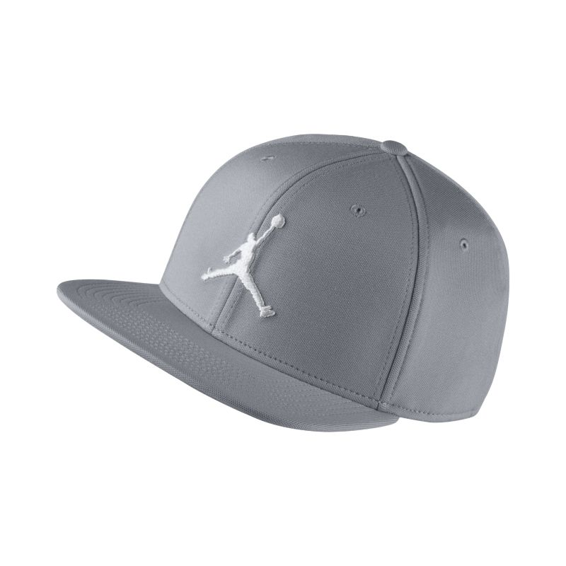 Jordan Jumpman Snapback Adjustable Hat - Grey