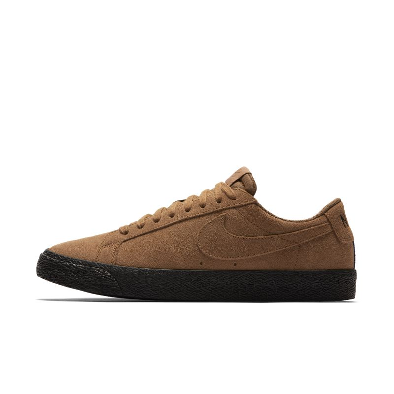 Image of Scarpa da skateboard Nike SB Blazer Zoom Low - Uomo - Marrone