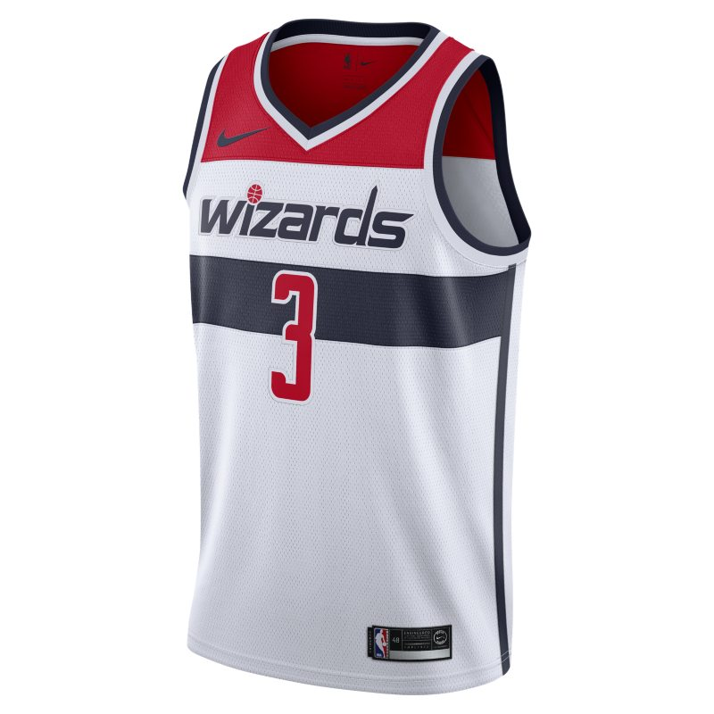 Image of Bradley Beal Icon Edition Swingman (Washington Wizards) Men's Nike NBA Connected Jersey Red