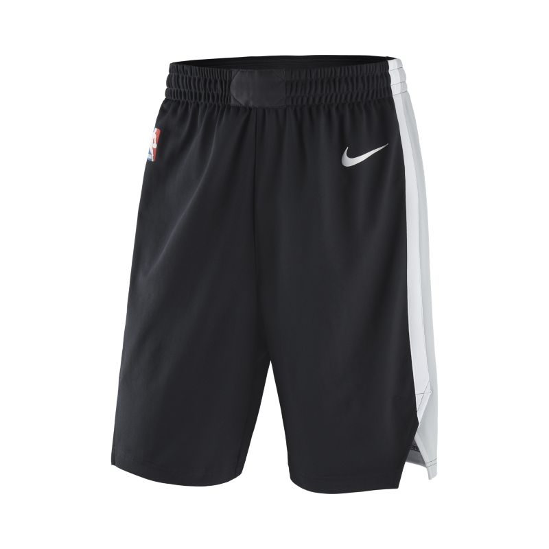 San Antonio Spurs Nike Icon Edition Authentic Men's NBA Shorts - Black