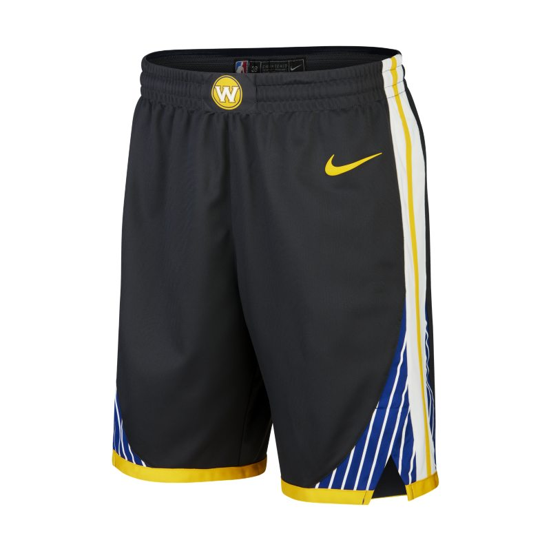 Golden State Warriors Nike Statement Edition Authentic Men's NBA Shorts - Black