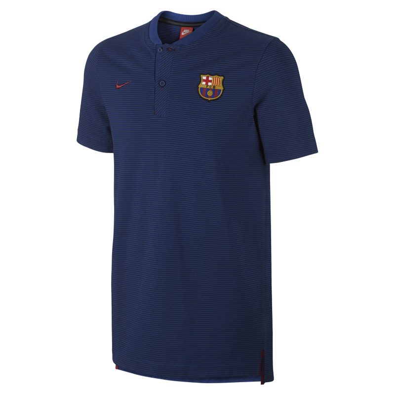 FC Barcelona Modern Authentic Grand Slam Men's Polo - Blue