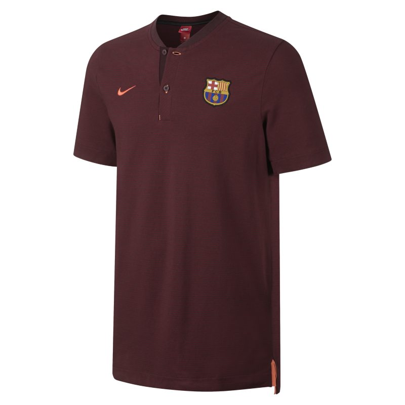 FC Barcelona Modern Authentic Grand Slam Men's Polo - Purple