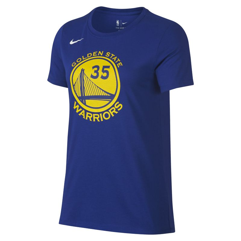 Kevin Durant Golden State Warriors Nike Dri-FIT Women's NBA T-Shirt - Blue