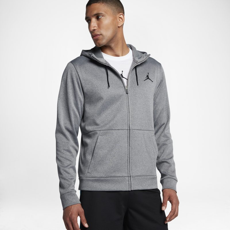 Jordan Therma 23 Alpha Men's Full-Zip Hoodie - Grey