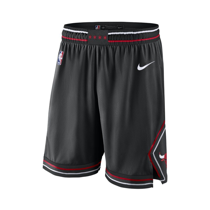 Chicago Bulls Nike Statement Edition Swingman Men's NBA Shorts - Black