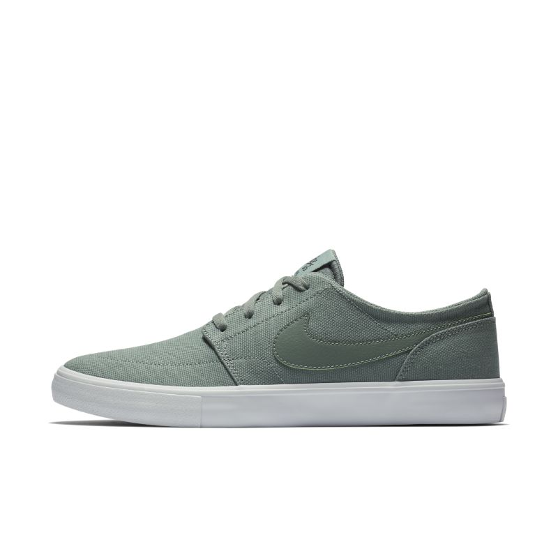 Nike SB Solarsoft Portmore II Canvas Men's Skateboarding Shoe - Grey