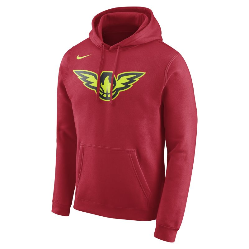 Atlanta Hawks Nike Men's Fleece NBA Hoodie - Red