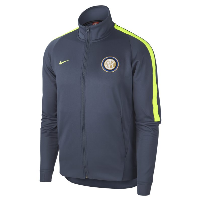 Inter Milan Authentic N98 Men`s Track Jacket - Blue