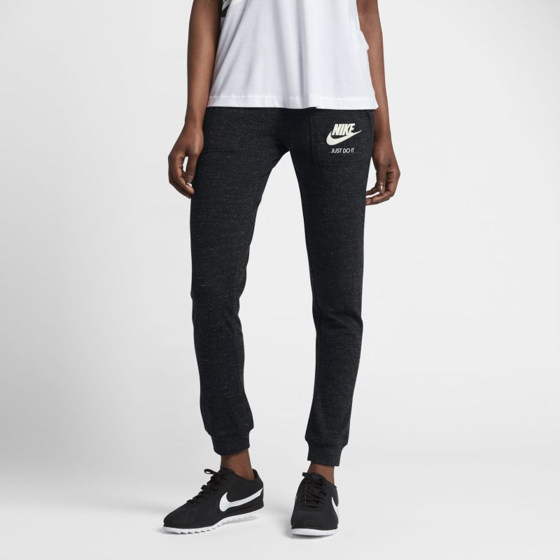 Nike Sportswear Gym Vintage Women's Trousers - Black