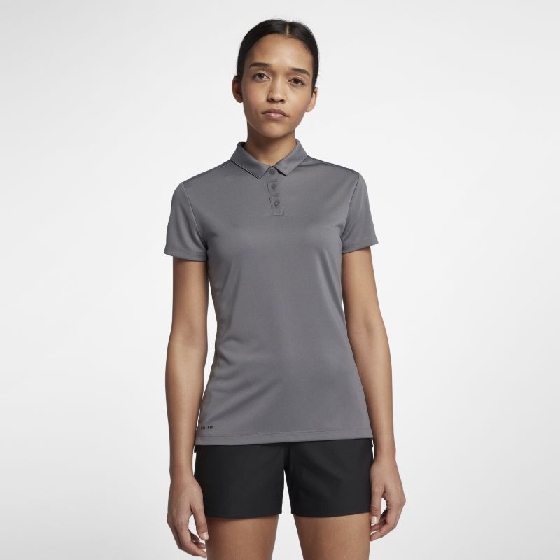 Nike Dri-FIT Women's Golf Polo - Grey
