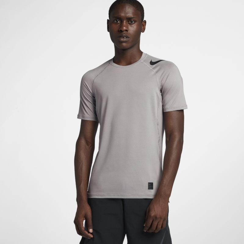 Nike Pro HyperCool Men's Short-Sleeve Training Top - Grey