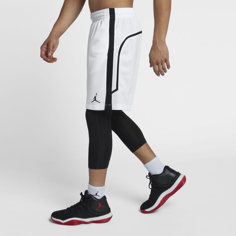 Jordan Flight Men's Basketball Shorts - White