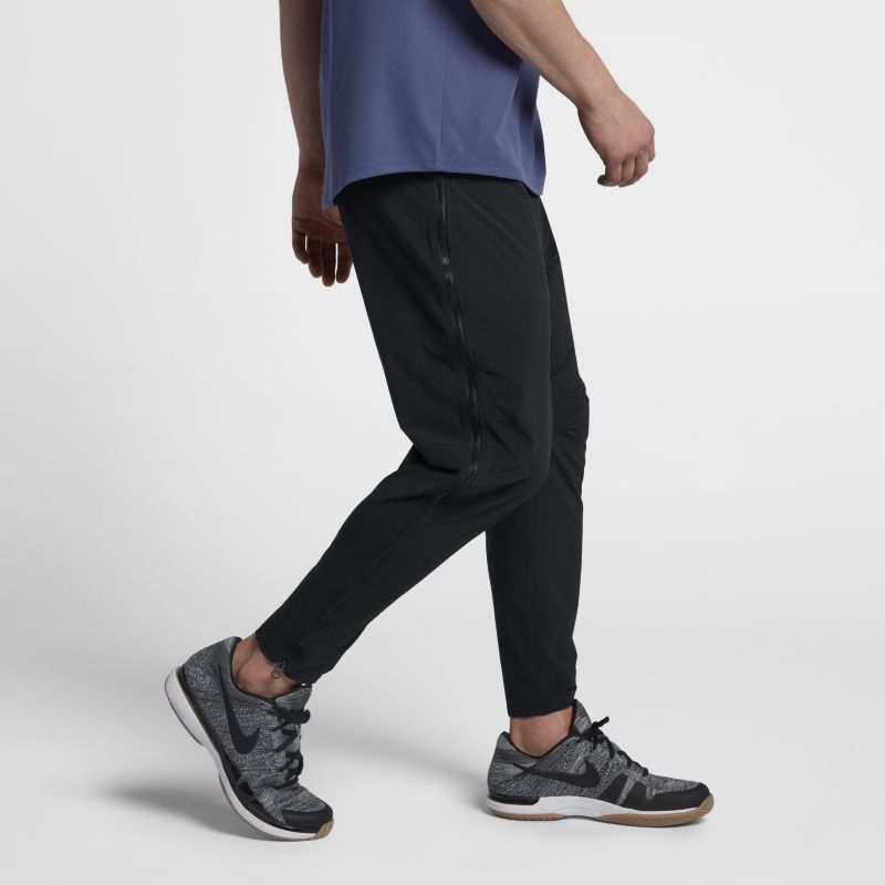 NikeCourt Flex Men's Tennis Trousers - Black