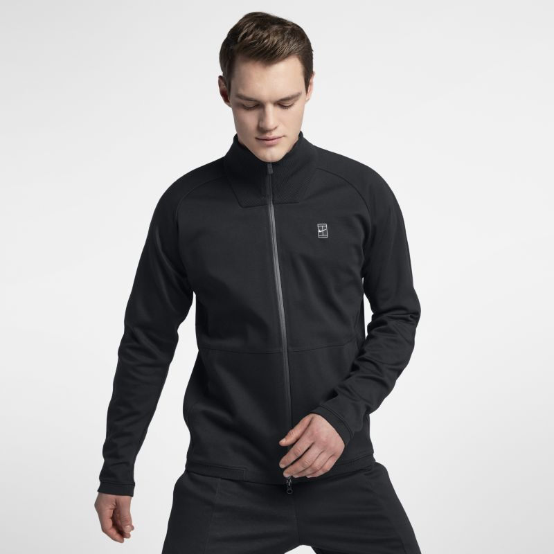 NikeCourt Men's Tennis Jacket - Black