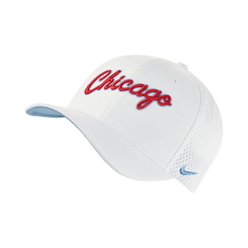 Image of Berretto Chicago Bulls City Edition Nike Classic99 NBA - Unisex - Bianco