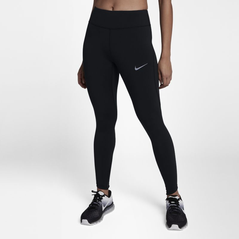 """Nike Epic Lux Women's 25.5""""(65cm approx.) Running Tights - Black"""