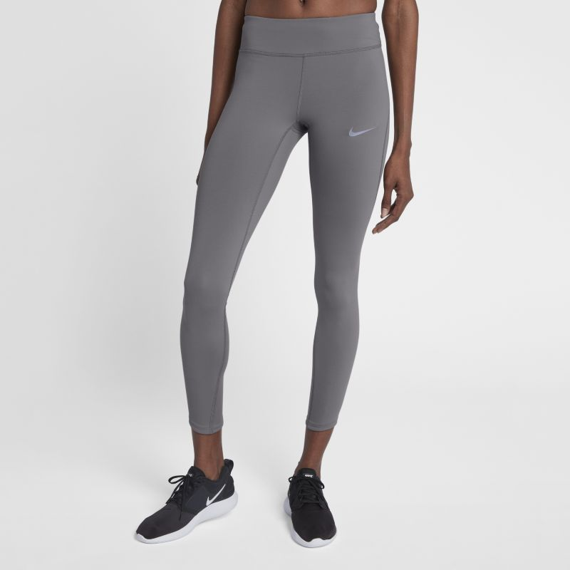 "Nike Epic Lux Women's 25.5""(65cm approx.) Running Tights - Grey"