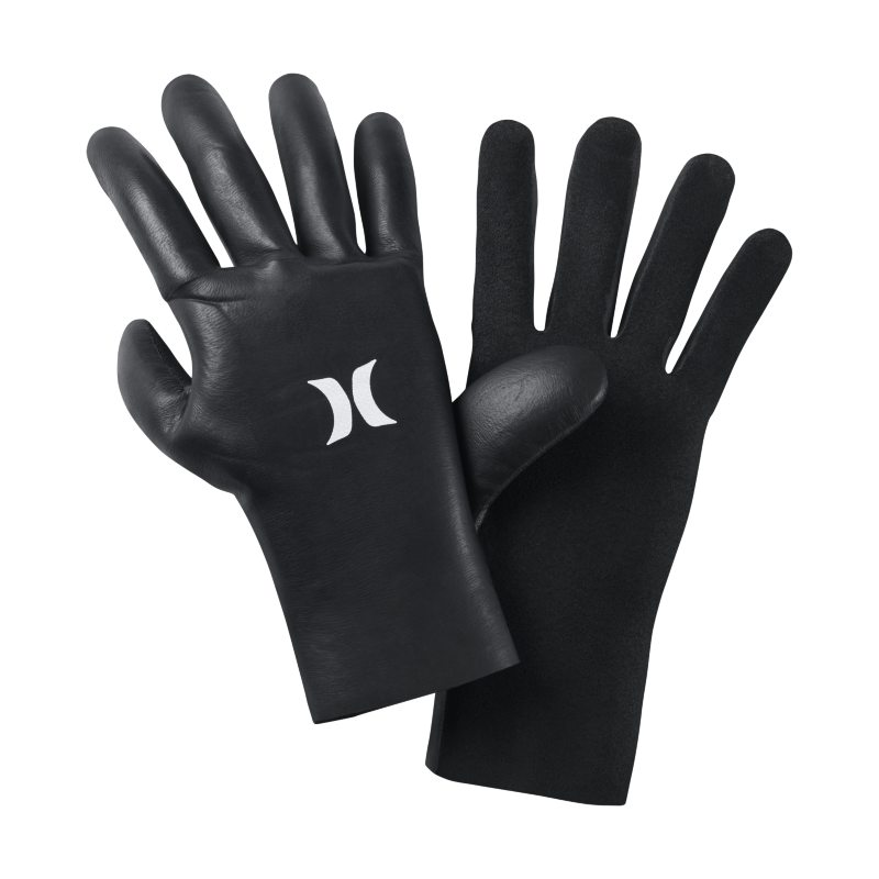 Hurley Advantage Plus 2/2mm Wetsuit Gloves - Black