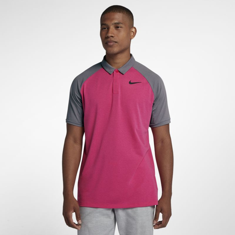 Nike Dri-FIT Men's Standard Fit Golf Polo - Pink