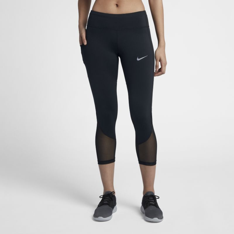 Nike Power Women's Running Crops - Black