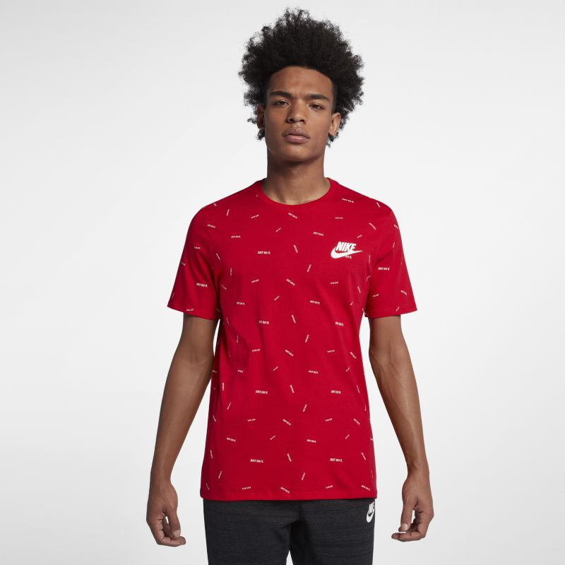 Nike Sportswear Just Do It Men's T-Shirt - Red