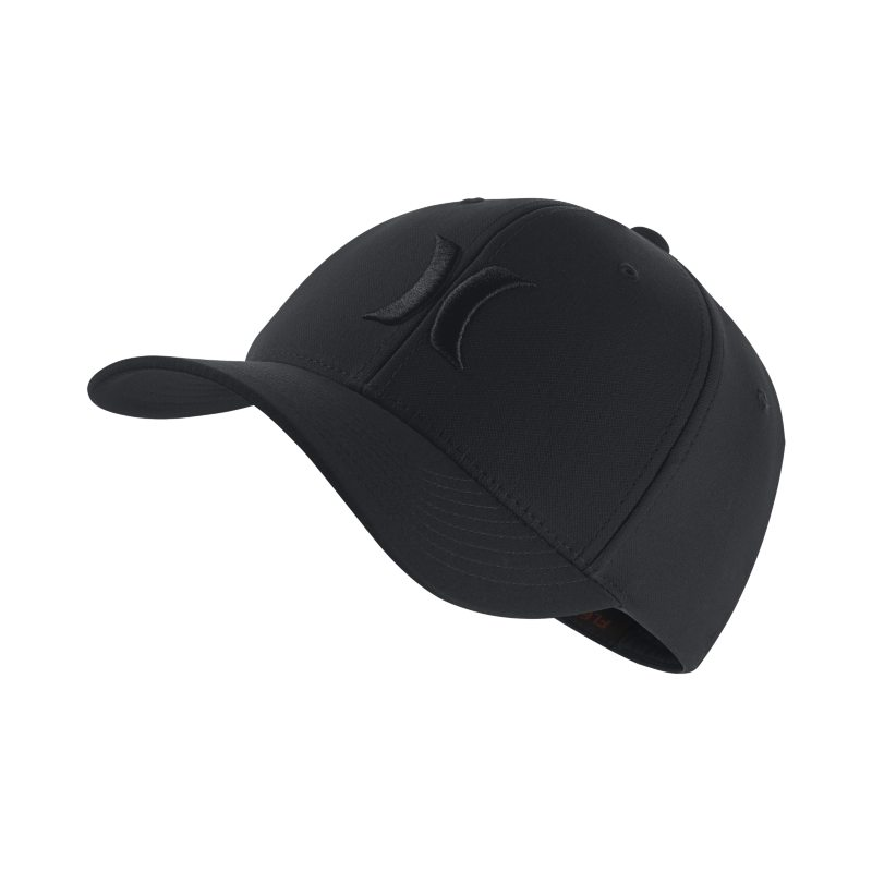 Hurley One And Only Dri-FIT Unisex Fitted Hat - Black