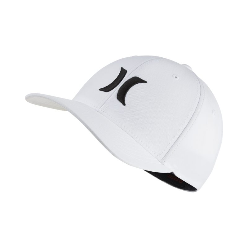 Hurley Dri-FIT One And Only Unisex Fitted Hat - White