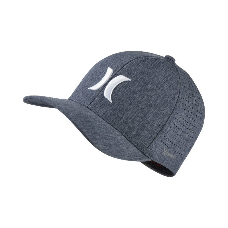 Hurley Phantom Unisex Fitted Hat - Blue