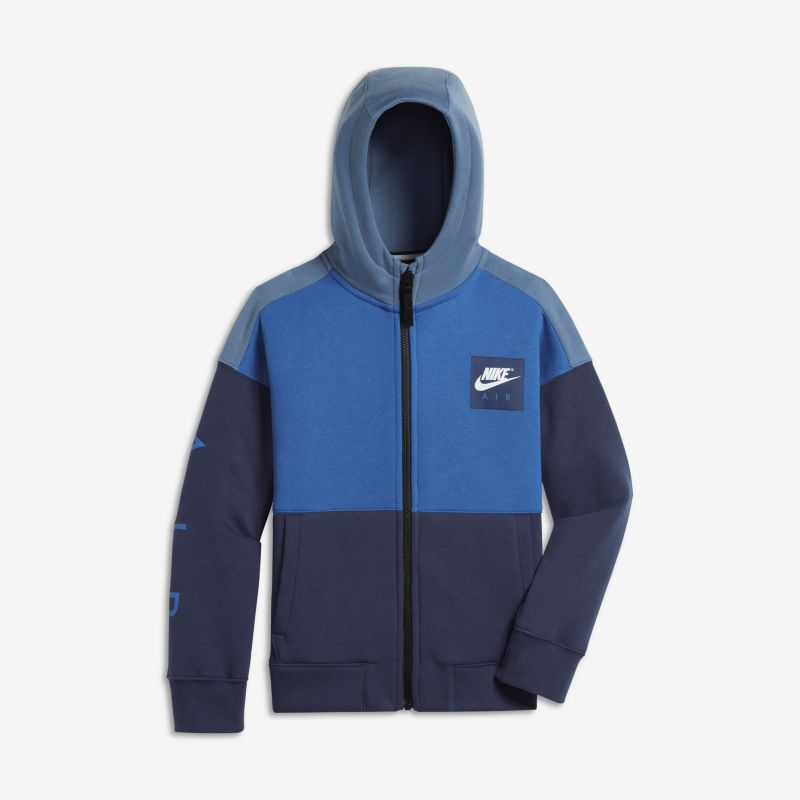 Nike Air Older Kids'(Boys') Hoodie - Blue