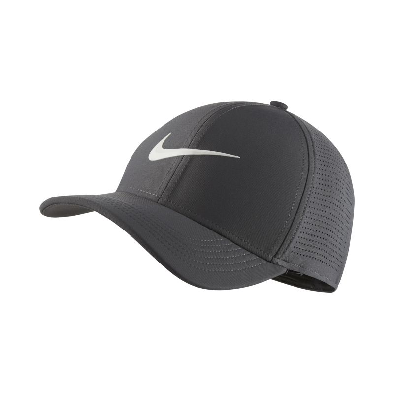 Nike AeroBill Classic 99 Fitted Golf Hat - Grey