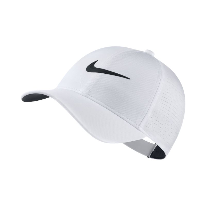Nike AeroBill Legacy 91 Adjustable Golf Hat - White