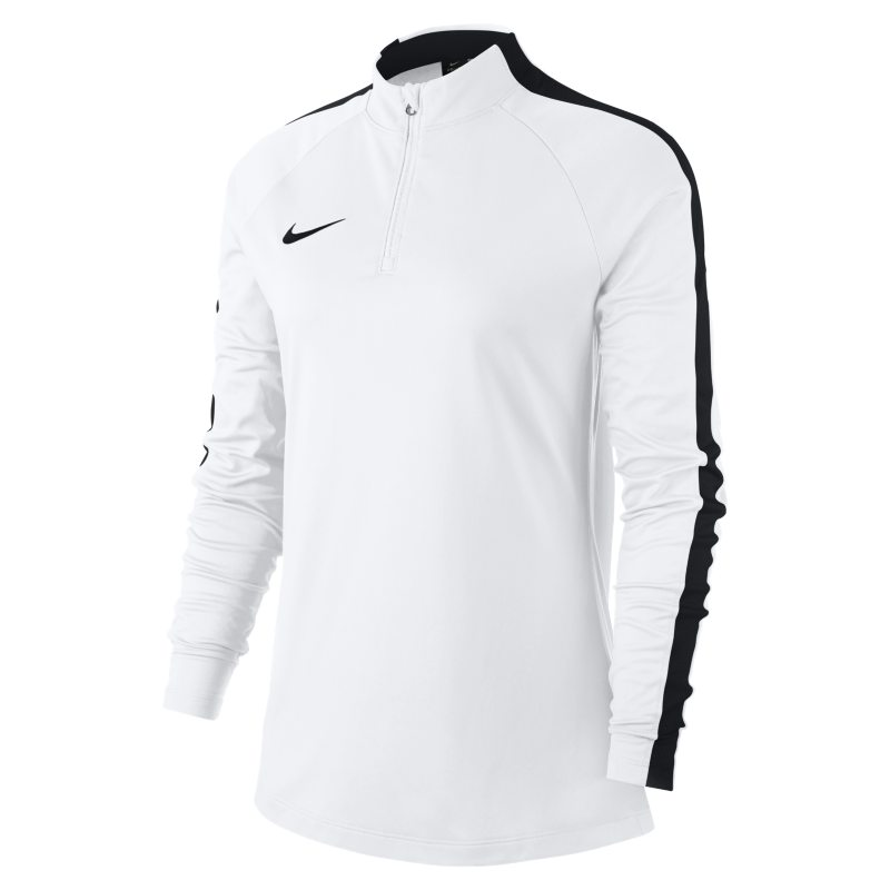 Nike Dri-FIT Academy Drill Women's Long-Sleeve Football Top - White