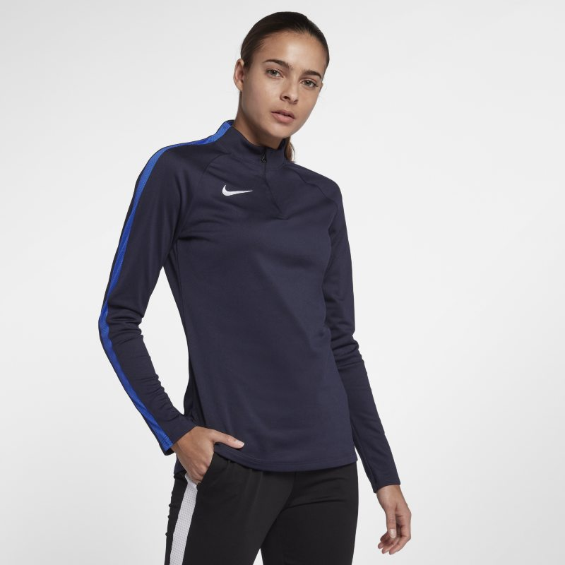 Nike Dri-FIT Academy Drill Women's Long-Sleeve Football Top - Blue