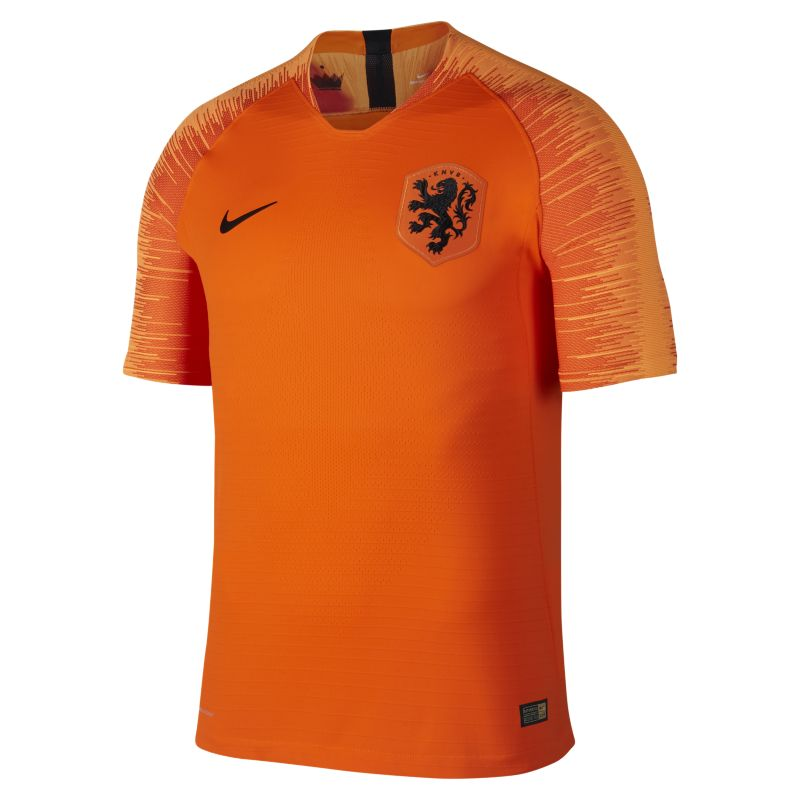 2018 Netherlands Vapor Match Home Men's Football Shirt - Orange