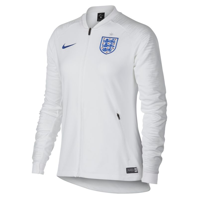 England Anthem Women's Football Jacket - White