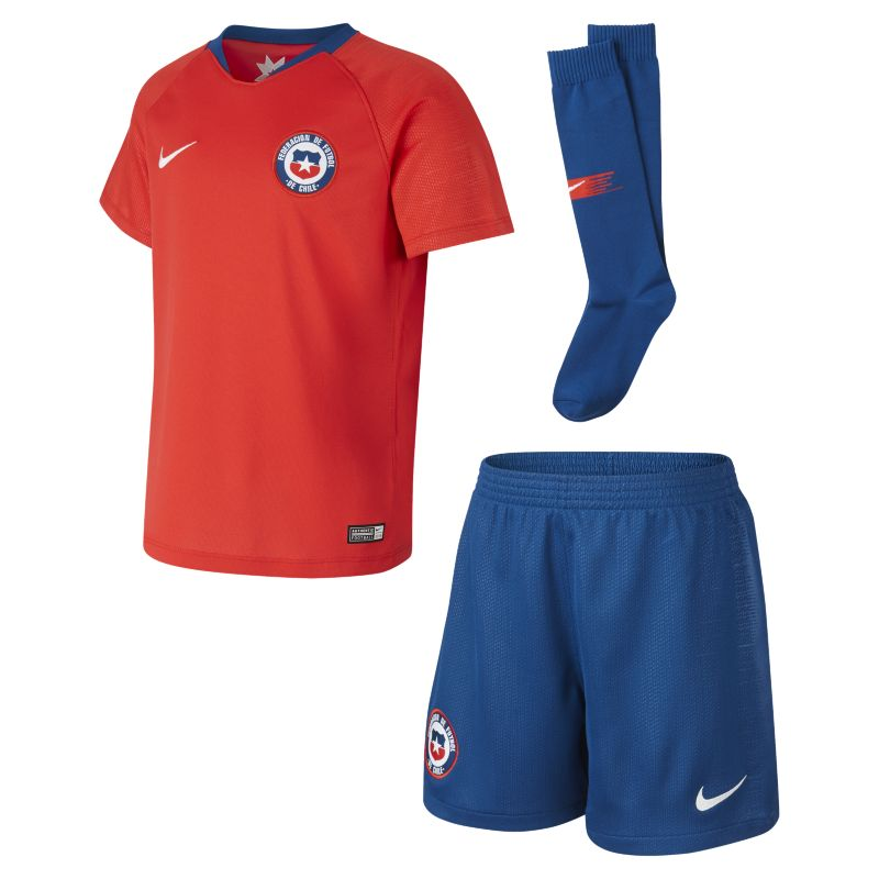 2018 Chile Stadium Home Younger Kids' Football Kit - Red