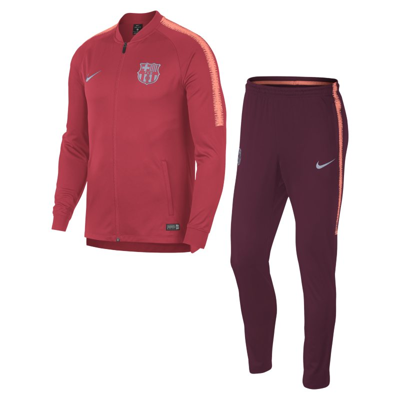 FC Barcelona Dri-FIT Squad Men's Football Track Suit - Pink