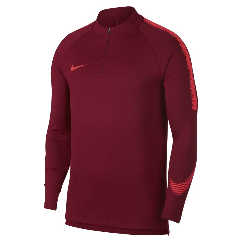 Nike Dri-FIT Squad Drill Men's Long-Sleeve Football Top - Red