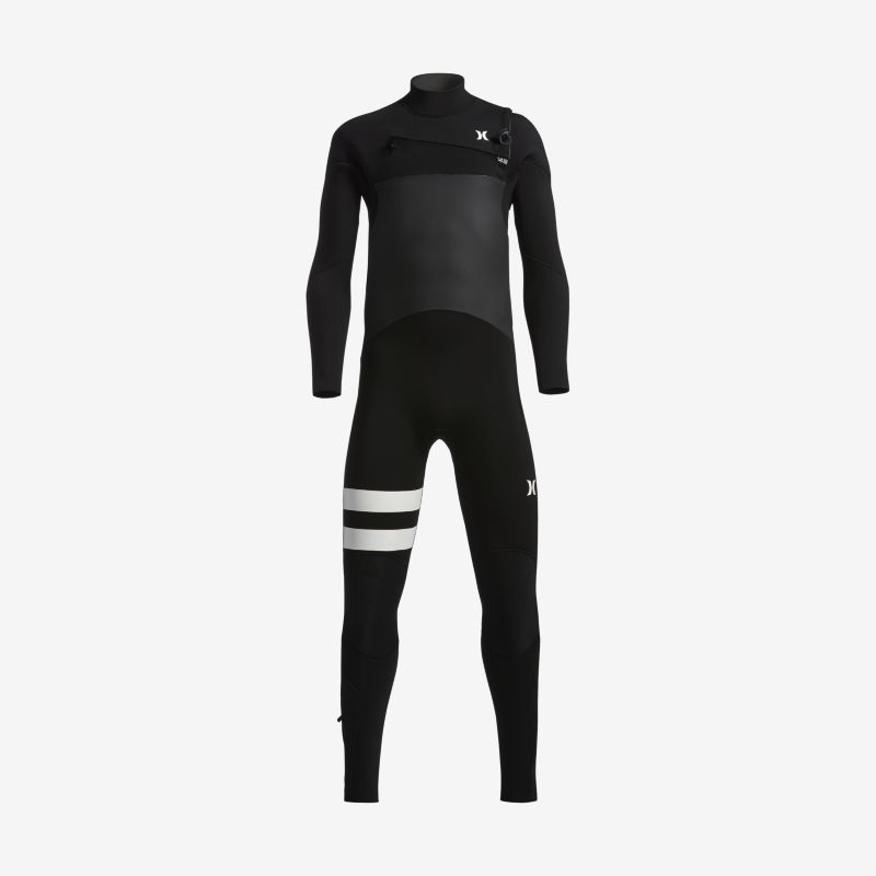 Hurley Advantage Plus 4/3mm Fullsuit Older Kids'(Boys') Wetsuit - Black