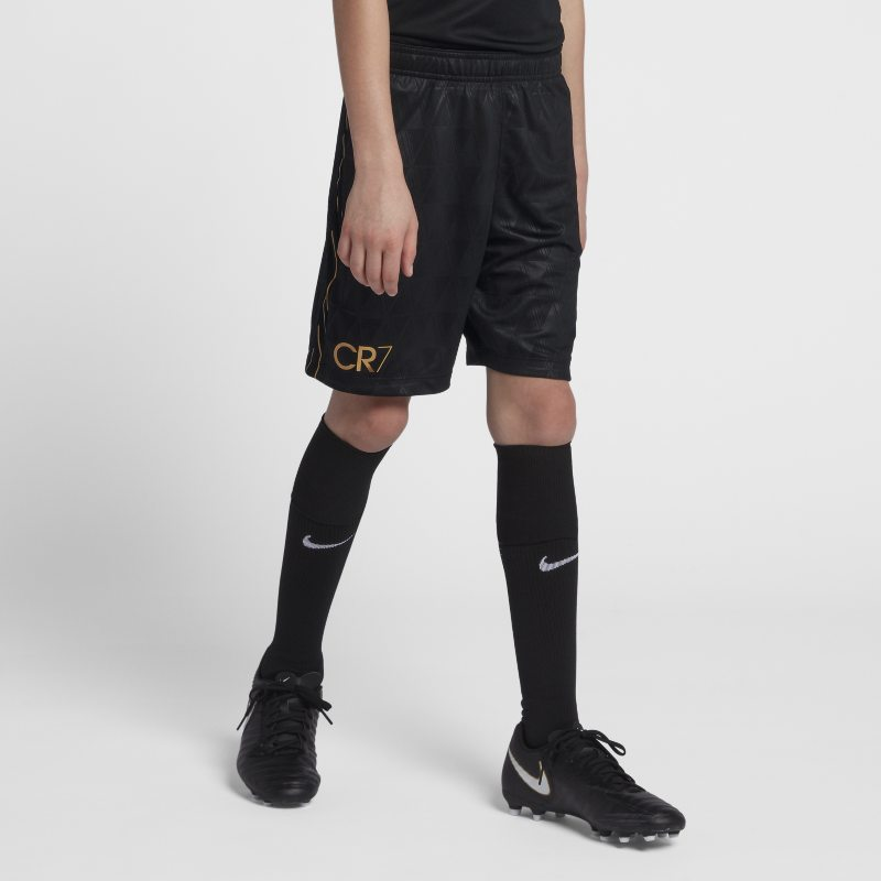 Nike Dri-FIT Academy CR7 Older Kids'(Boys') Football Shorts - Black