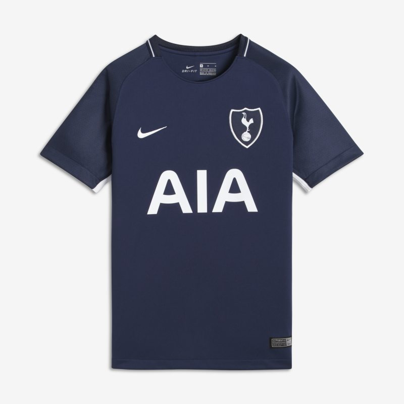 2017/18 Tottenham Hotspur FC Stadium Away Older Kids'Football Shirt - Blue