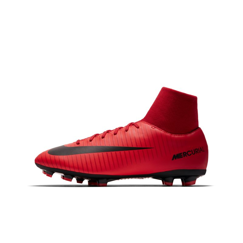 Nike Jr. Mercurial Victory VI Dynamic Fit Younger/Older Kids' Firm-Ground Football Boot - Red