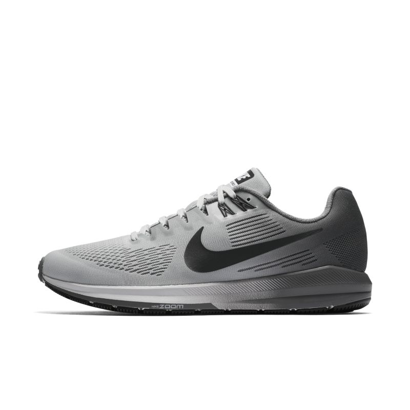 Nike Air Zoom Structure 21 Men's Running Shoe - Silver