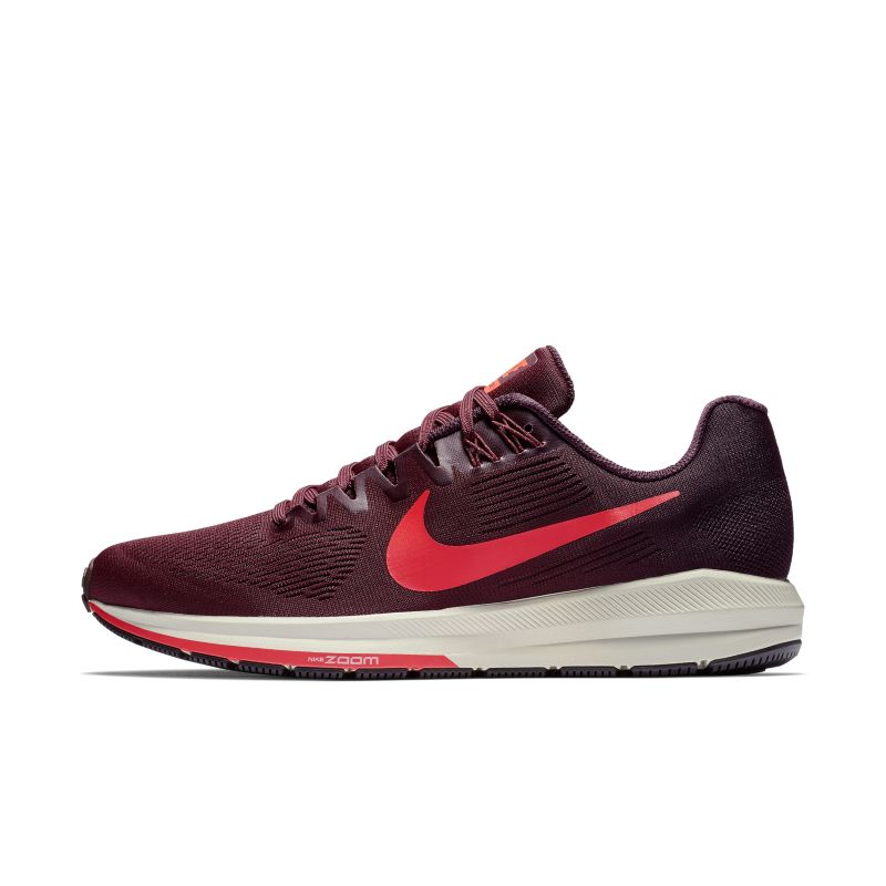Nike Air Zoom Structure 21 Men's Running Shoe - Red
